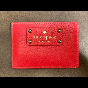 Kate Spade Pink Card Holder